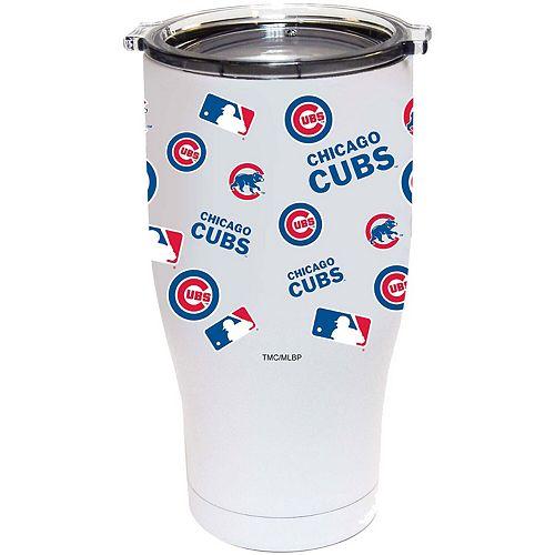 Chicago Cubs 24oz. Powder Coated Full Wrap Tumbler