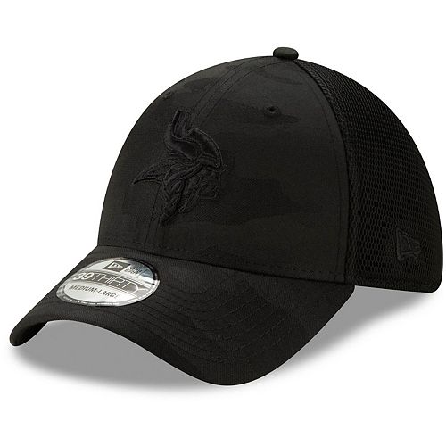 great deals release info on 100% top quality Men's New Era Black Minnesota Vikings Camo Front Neo 39THIRTY ...