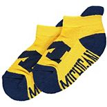 Infant Michigan Wolverines Footie Socks