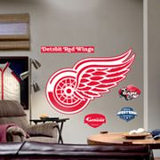 Fathead Detroit Red Wings Logo Wall Decal