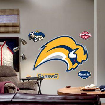 Fathead® Buffalo Sabres Logo Wall Decal