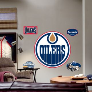 Fathead Edmonton Oilers Logo Wall Decal