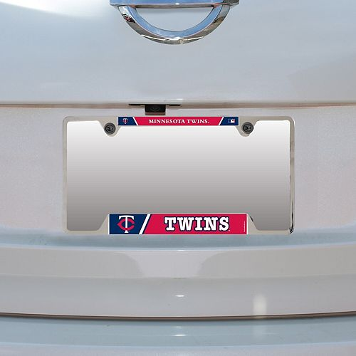 WinCraft Minnesota Twins Metal License Plate Frame