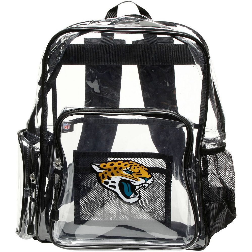The Northwest Company Jacksonville Jaguars Dimension Clear Backpack