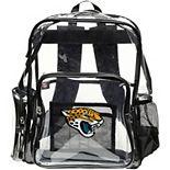 The Northwest Jacksonville Jaguars Dimension Clear Backpack