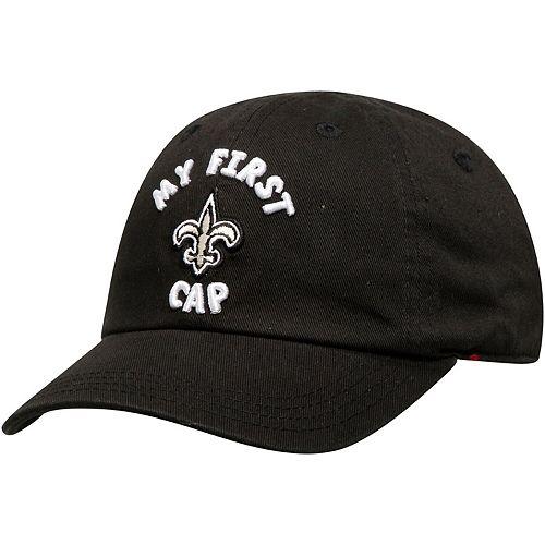 Infant Black New Orleans Saints My First II Flex Hat