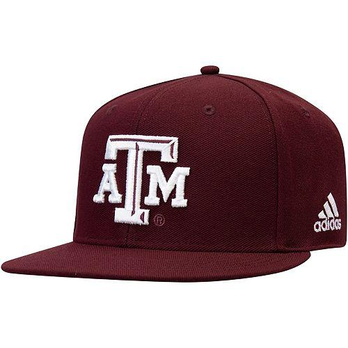 Men's adidas Maroon Texas A&M Aggies Baseball Flex Hat