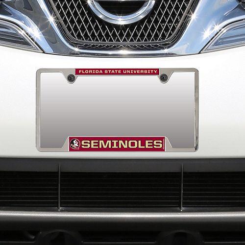 WinCraft Florida State Seminoles Metal License Plate Frame