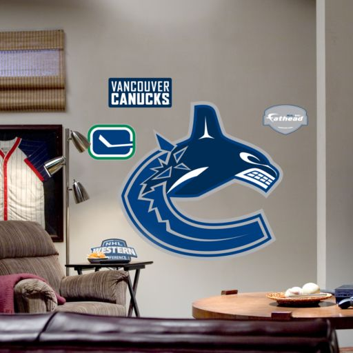 Fathead Vancouver Canucks Logo Wall Decal