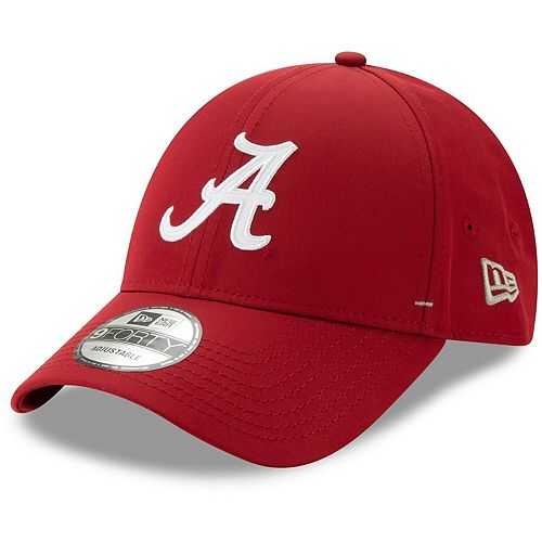 Men's New Era Crimson Alabama Crimson Tide Dash 9FORTY Adjustable Hat