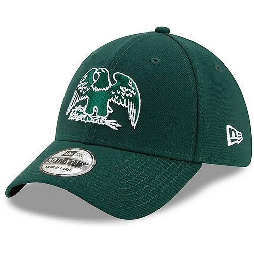 Men's New Era Green Michigan State Spartans State Flag 39THIRTY Flex Hat