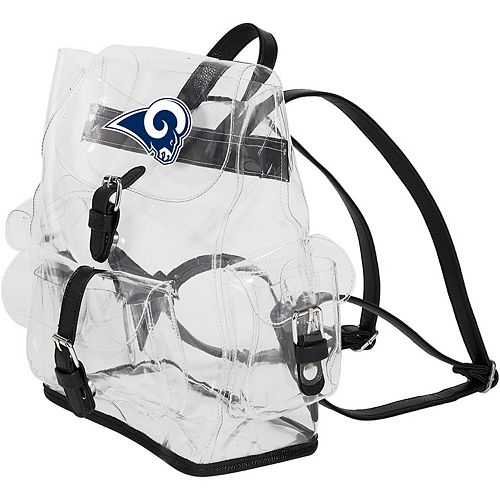 The Northwest Company Los Angeles Rams Lucia Clear Backpack
