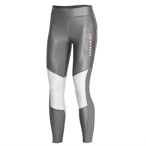 Women's Under Armour Gray Maryland Terrapins Perforated Pocket Crop Performance Leggings
