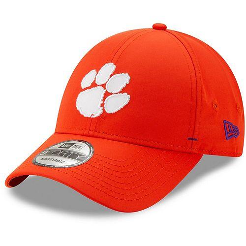 Men's New Era Orange Clemson Tigers Dash 9FORTY Adjustable Hat