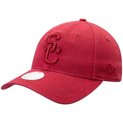 Women's New Era Cardinal USC Trojans Core Classic Tonal 9TWENTY Adjustable Hat