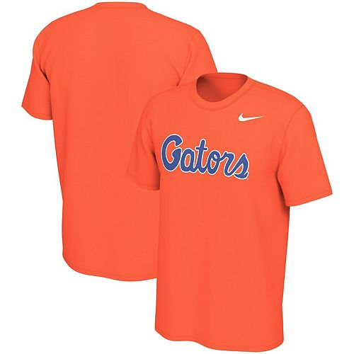 Men's Nike Orange Florida Gators Wordmark Legend T-Shirt