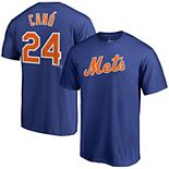 Men's Majestic Robinson Cano Royal New York Mets Official Name & Number T-Shirt