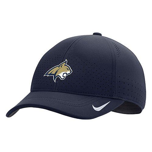 Men's Nike Navy Montana State Bobcats Sideline Coaches Classic 99 Flex Hat