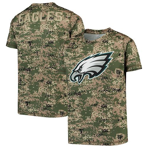 Youth Camo Philadelphia Eagles Alpha Sublimated Dri-Tek T-Shirt