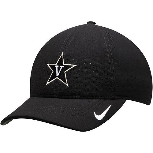 Men's Nike Black Vanderbilt Commodores Sideline Coaches Legacy 91 Adjustable Hat