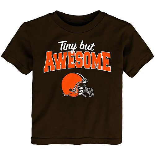 Toddler Brown Cleveland Browns Still Awesome T-Shirt