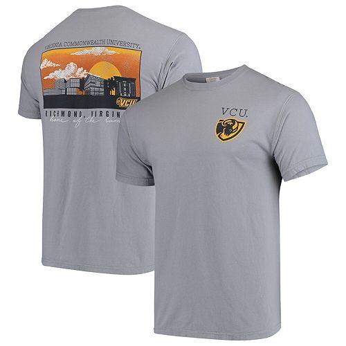 VCU Rams Comfort Colors Campus Scenery T-Shirt - Gray
