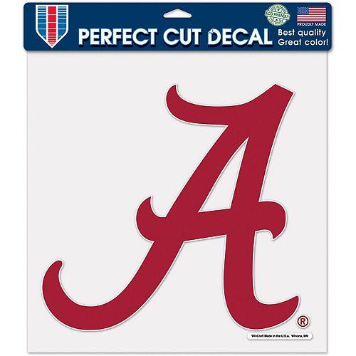 "WinCraft Alabama Crimson Tide 12"" x 12"" Perfect Cut Decal"