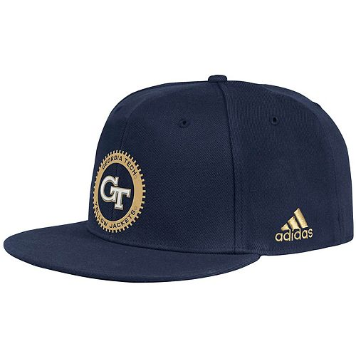 Men's adidas Navy Georgia Tech Yellow Jackets Ultra Flex Hat