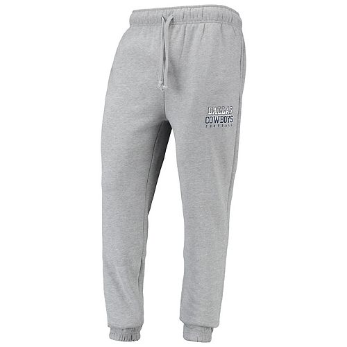 Men's Heathered Gray Dallas Cowboys Giddon Sweatpants