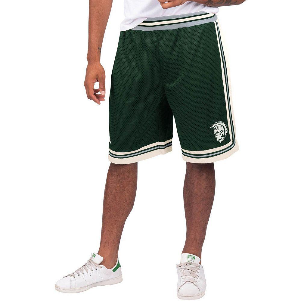 Men's Starter Green Michigan State Spartans Highlight Shorts