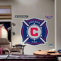 Fathead® Chicago Fire Logo Wall Decal