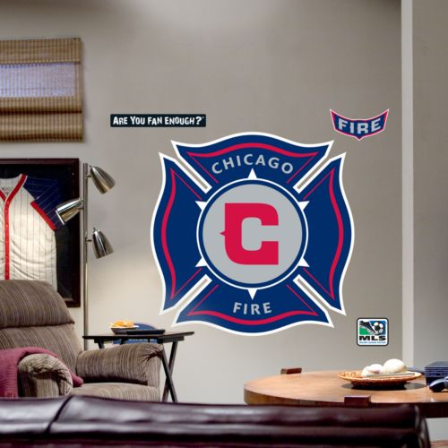 Fathead Chicago Fire Logo Wall Decal