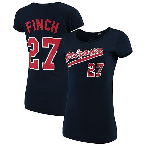 Women's Blue 84 Jennie Finch Navy Arizona Wildcats T-Shirt