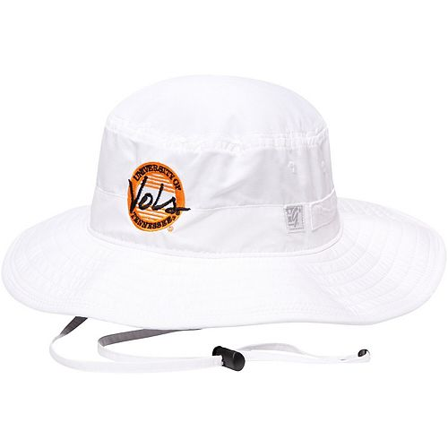 Men's The Game White Tennessee Volunteers Classic Circle Ultralight Adjustable Boonie Bucket Hat