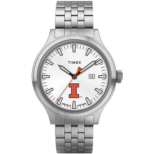 Men's Timex Illinois Fighting Illini Top Brass Watch