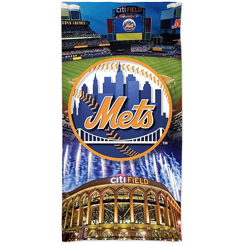 "WinCraft New York Mets 30"" x 60"" Ballpark Spectra Beach Towel"