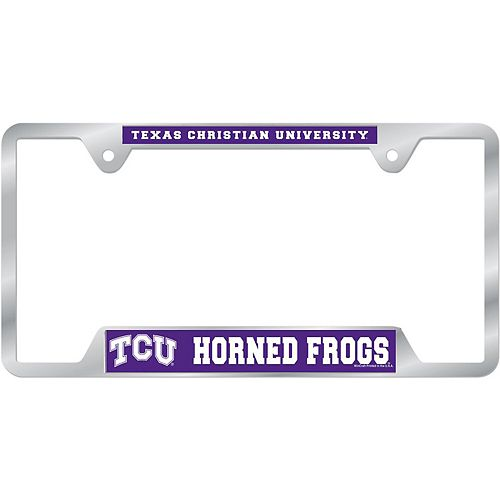 WinCraft TCU Horned Frogs License Plate Frame