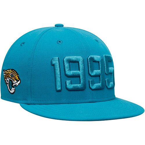 Men's New Era Teal Jacksonville Jaguars 2019 NFL Sideline Color Rush 9FIFTY Adjustable Snapback Hat