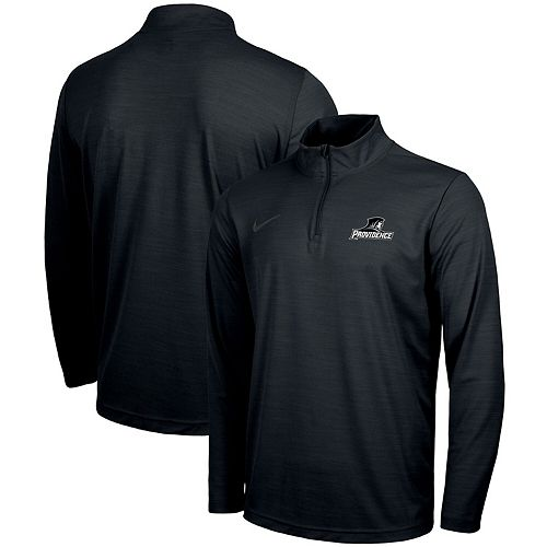Providence Friars Nike Intensity Performance Quarter-Zip Pullover Jacket - Black