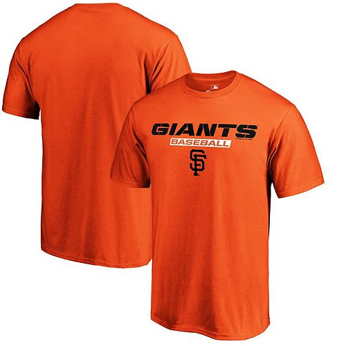 Men's Fanatics Branded Orange San Francisco Giants Just Like That T-Shirt