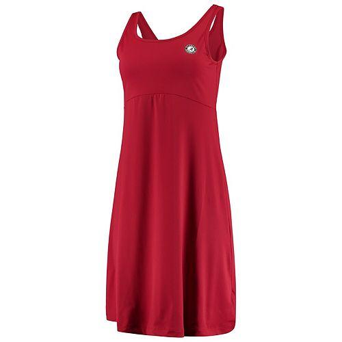 Alabama Crimson Tide Columbia Women's Freezer III Omni-Freeze Dress - Crimson