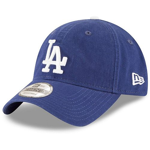Youth New Era Royal Los Angeles Dodgers Core Classic Replica 9TWENTY Adjustable Hat