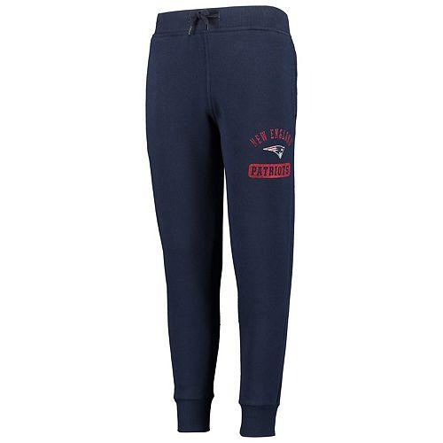 Youth Navy New England Patriots 90's Fashion Fleece Pants