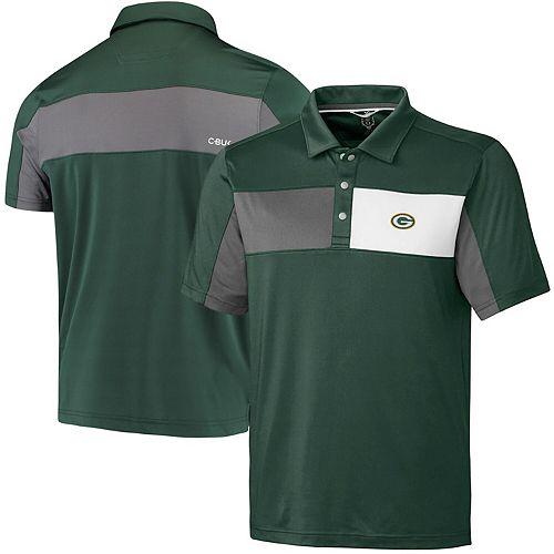 Green Bay Packers CBUK by Cutter & Buck Logan Polo - Green
