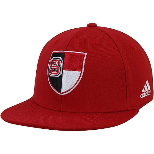 Men's adidas Red NC State Wolfpack Ultra Flex Hat