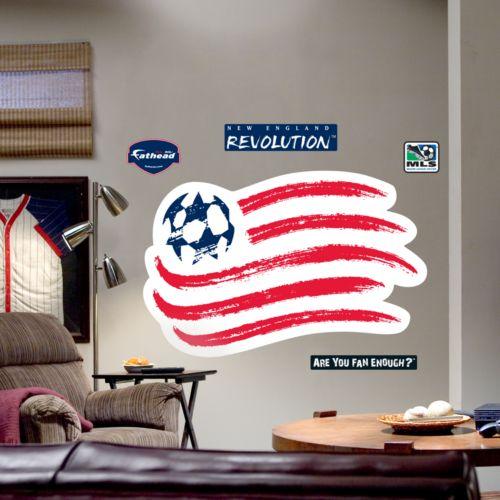 Fathead New England Revolution Logo Wall Decal