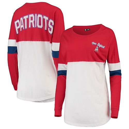 cheap for discount 0251e 749bc Women's New Era Red/White New England Patriots Athletic ...