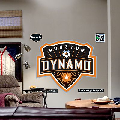 Fathead Houston Dynamo Logo Wall Decal