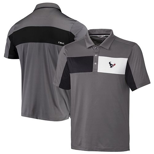 Houston Texans CBUK by Cutter & Buck Logan Polo - Gray