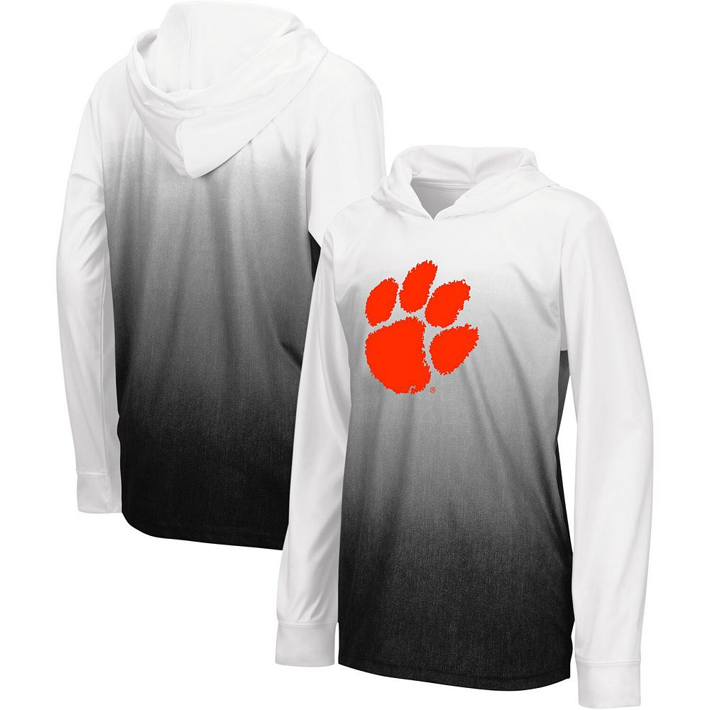 Youth Colosseum Black Clemson Tigers Magic Long Sleeve Hooded T-Shirt